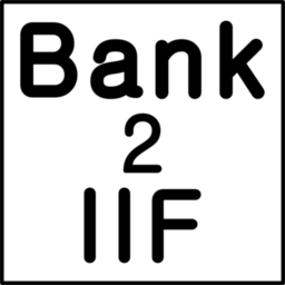 Logo for Bank2IIF