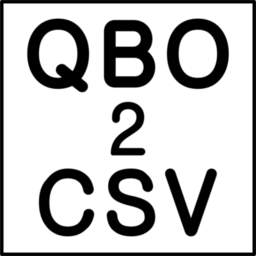 Logo for QBO2CSV