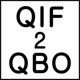 Logo for QIF2QBO