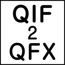 Logo for QIF2QFX