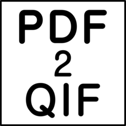 Logo for PDF2QIF