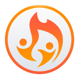 Logo for Flames Messenger for Tinder