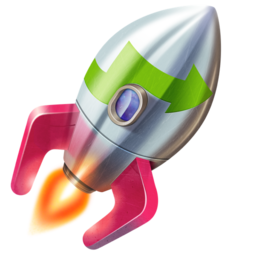 Logo for Rocket Typist