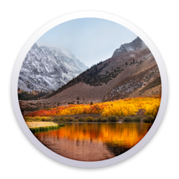 Logo for macOS High Sierra