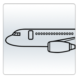 Logo for Flight status tracker