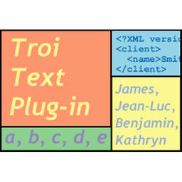 Logo for Troi Text Plug-in