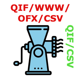 Logo for QIF Master