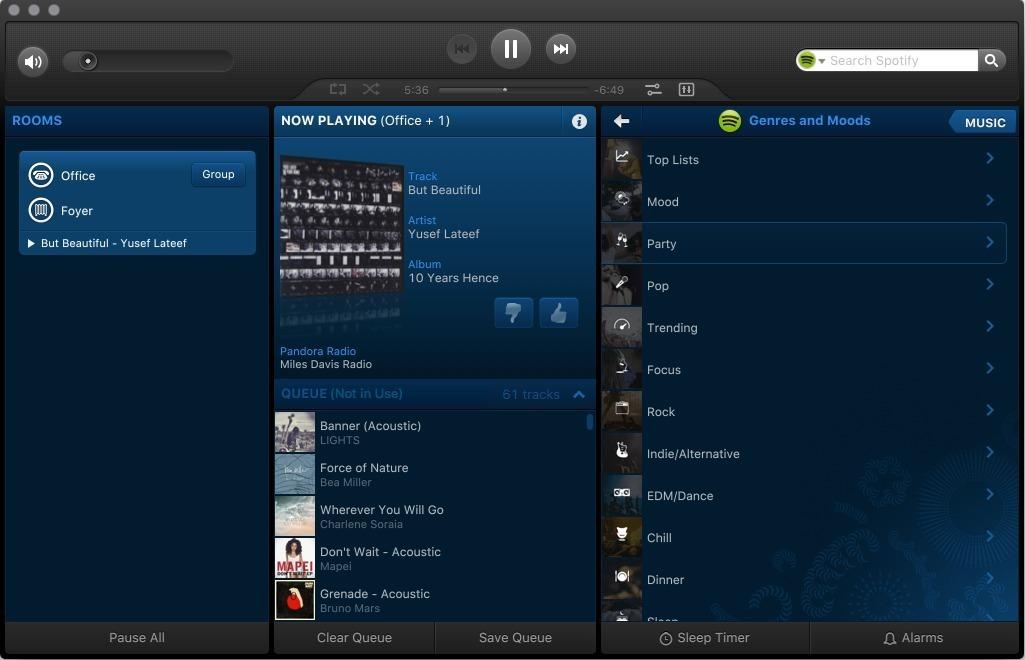Off Sonos  Room Music System